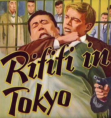 Rififi in Tokyo poster