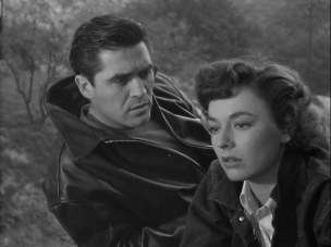 Steve Cochran & Ruth Roman in Tomorrow is Another Day (1951)
