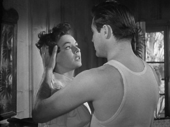 Ruth Roman & Steve Cochran in Tomorrow is Another Day (1951)