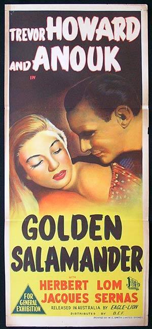 Golden Salamander poster