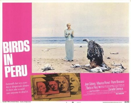 Jean Seberg in Birds in Peru (1968)