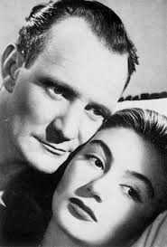 Trevor Howard & Anouk Aimee in Golden Salamander (1950)