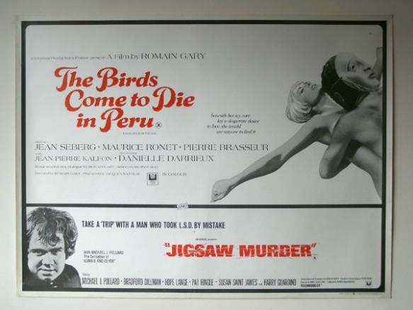 The Birds Come to Die in Peru & Jigsaw Murder