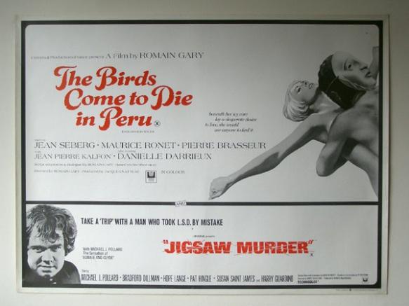 The Birds Come to Die in Peru & Jigsaw Murder