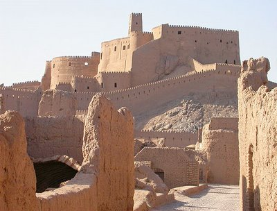 Bam Citadel, Iran - the set for The Desert of the Tartars (1976)