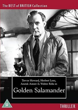 Golden Salamander DVD