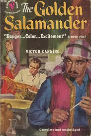 The Golden Salamander paperback