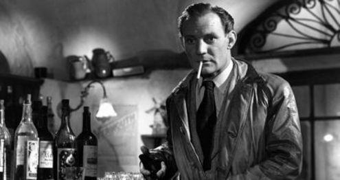 Trevor Howard in Golden Salamander (1950)