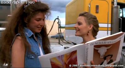 Catherine Keener, Jodie Foster in Backtrack (1990) aka Catchfire