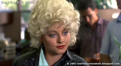 Jodie Foster in disguise in Backtrack (1990) aka Catchfire