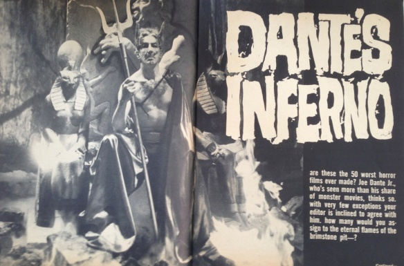 Famous Monsters of Filmland article by teenage fan Joe Dante (issue #18, 1962)