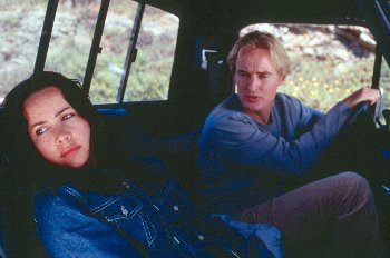 Janeane Garofalo & Owen Wilson in The Minus Man (1999)