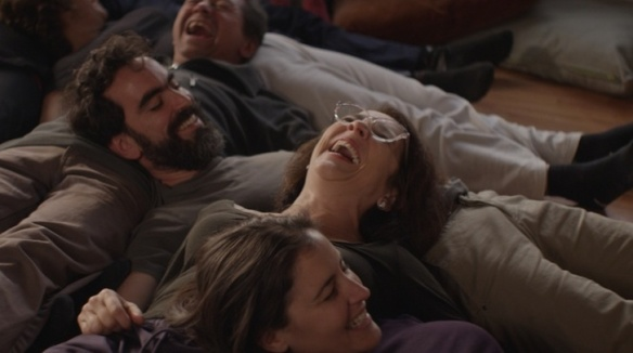 Paulina Garcia (top center, in glasses) is the star of Sebastian Lelio's Gloria (2013)