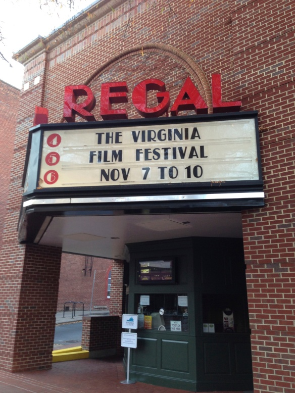 The Regal Theater, Charlottesville downtown mall, site of Virginia Film Festival 2013