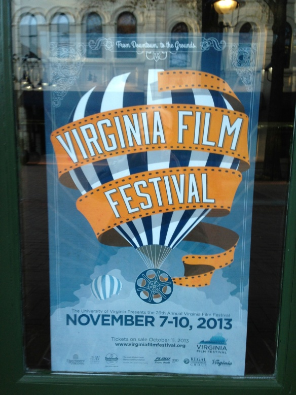 Virginia Film Festival 2013 poster