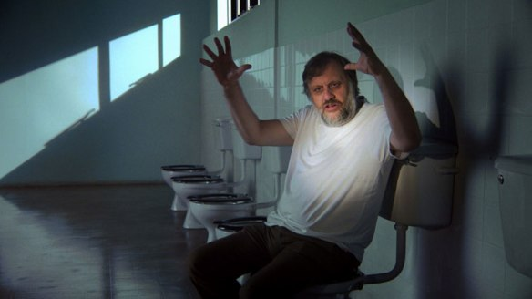 Slavoj Zizek's discusses Stanley Kubrick's subtext in Full Metal Jacket for The Pervert's Guide to Ideology (2012).