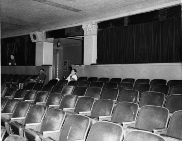 The Texas Theatre interior circa the '60s