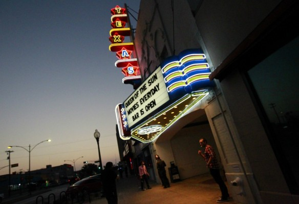 The Texas Theatre as it appears today (photo by Mona Reeder, Dallas News)