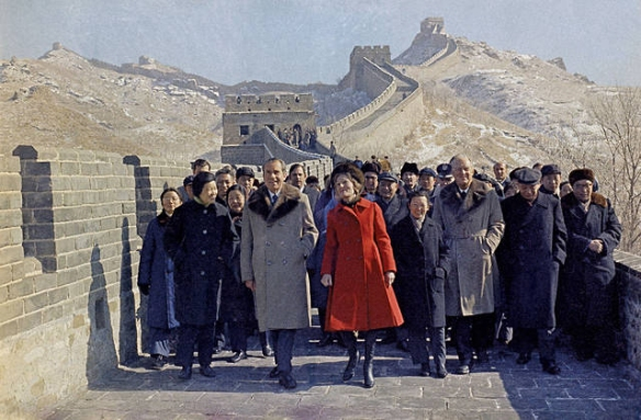 President Nixon visits China in 1972 (from the documentary OUR NIXON)