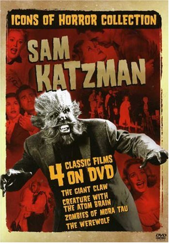 Creature with the Atom Brain is featured in this DVD collection