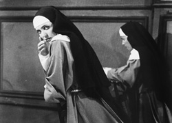 Anna Karina in The Nun (La religieuse, 1965)