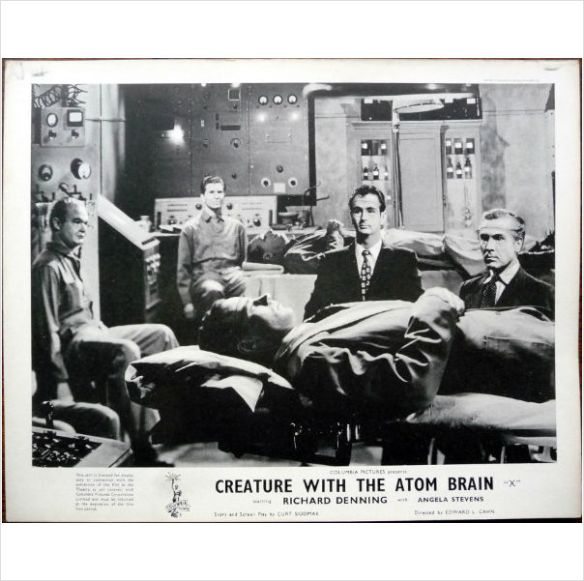 The zombie waiting room in CREATURE WITH THE ATOM BRAIN (1955).