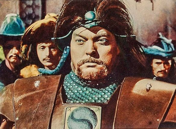 Orson Welles in The Tartars