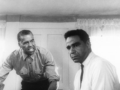 Robert Earl Jones (left), Bernie Hamilton in One Potato, Two Potato (1964)