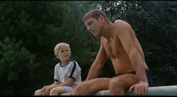 Burt Lancaster as The Swimmer (1968)