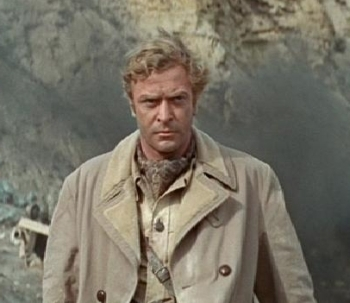 Michael Caine in PLAY DIRTY (1969), directed by Andre de Toth