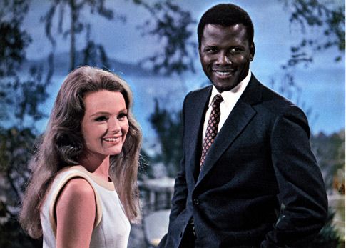 Katharine Houghton, Sidney Poitier in Guess Who's Coming to Dinner?