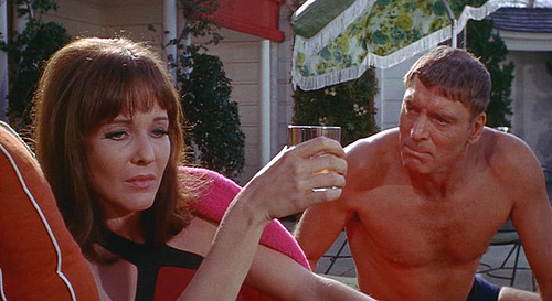 Janice Rule and Burt Lancaster in The Swimmer (1968)