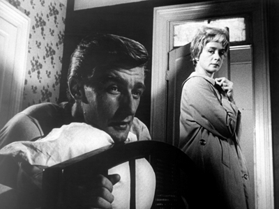Richard Mulligan and Barbara Barrie in One Potato, Two Potato (1964)