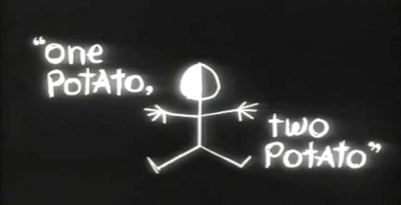 one potato two potato title credit