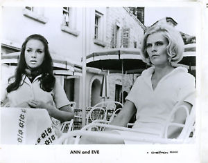 On the prowl for men: Marie Liljedahl and Gio Petré (on right) in ANN AND EVE (1970)