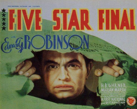 Five Star Final poster