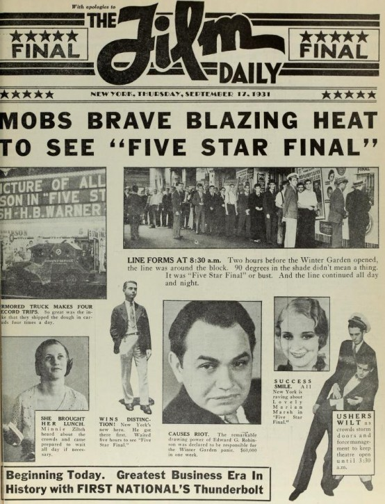 Film Daily 1931
