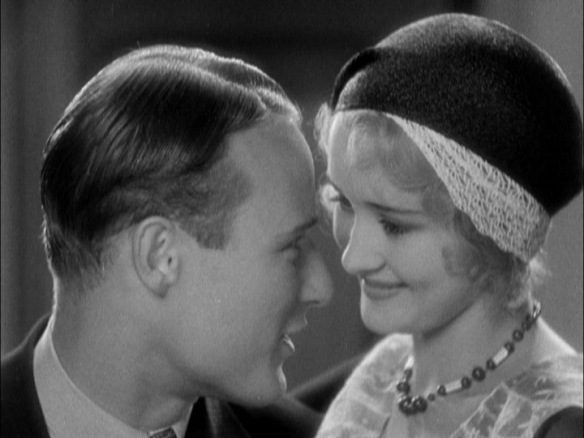 Anthony Bushell and Marian Marsh in FIVE STAR FINAL (1931)