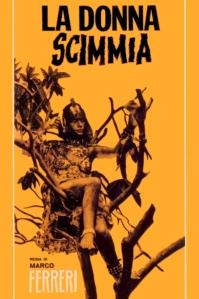 La donna scimmia poster