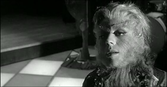 Annie Girardot as THE APE WOMAN (1964)