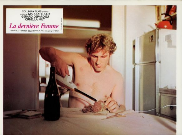 Gerard Depardieu in Marco Ferreri's THE LAST WOMAN (1976)