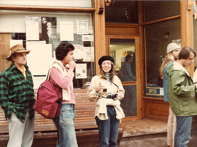 Kent and Mary at the 8th Telluride Film Festival (1981, photo by Jeff Stafford)
