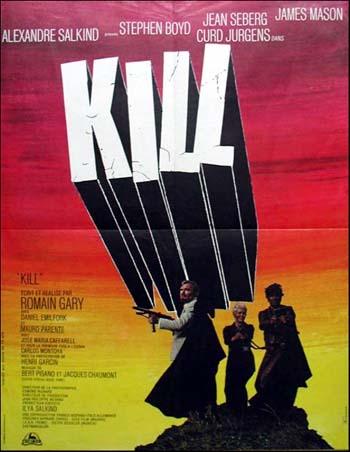 Kill (1970) poster