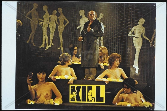 The bizarre nightclub featured in Kill! (1971), directed and written by Romain Gary