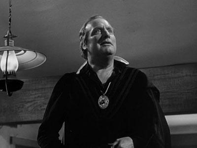 Alan Mowbray reciting Hamlet in John Ford's My Darling Clementine