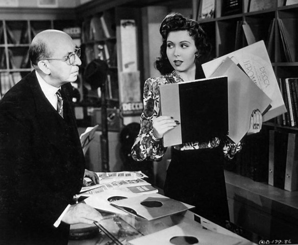 Andrew Tombes and Ann Miller in Reveille with Beverly (1943).