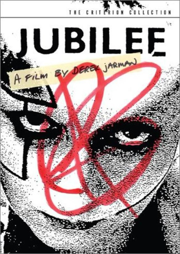Criterion DVD cover of Derek Jarman's Jubilee