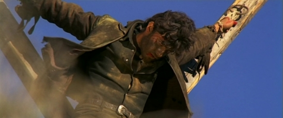 Hamlet as a Christ figure in the spaghetti western Johnny Hamlet (1968)