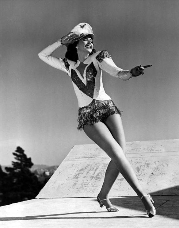 A publicity still of Ann Miller from Reveille with Beverly (1943)