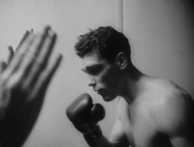 Prizefighter Walter Cartier in training in Stanley Kubrick's 1951 short, Day of the Fight
